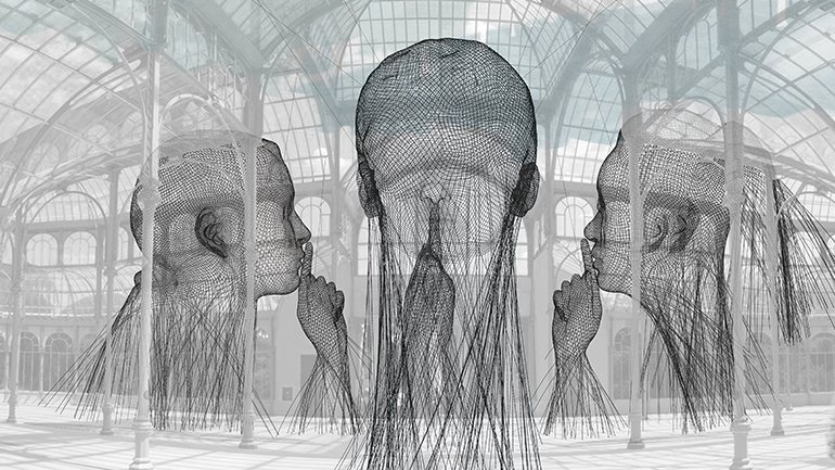 Jaume Plensa, Invisibles, 2018