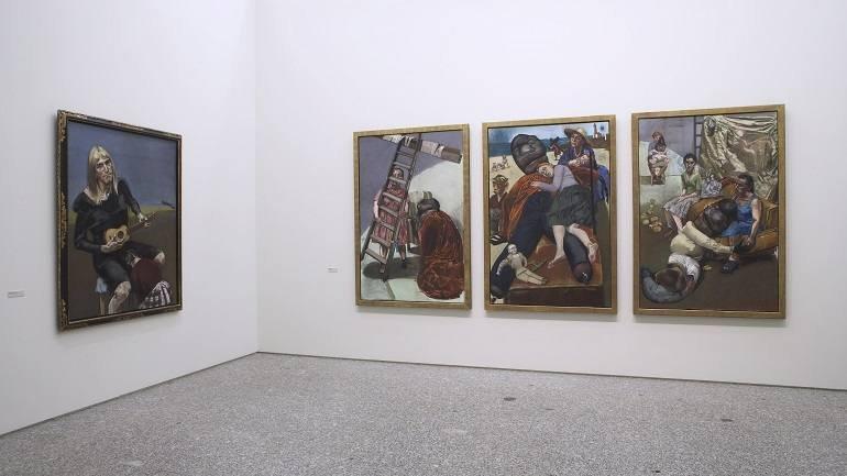 Vista de sala de la exposición. Paula Rego, 2007