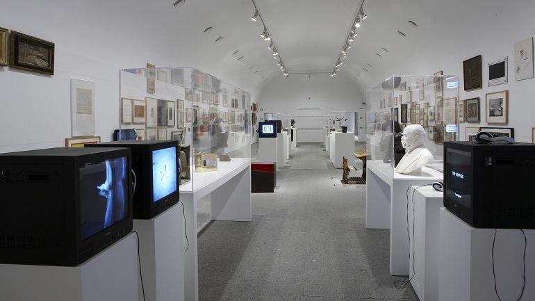 Vista de sala de la exposición. El retorno de lo imaginario. Realismos entre XIX y XXI, 2010