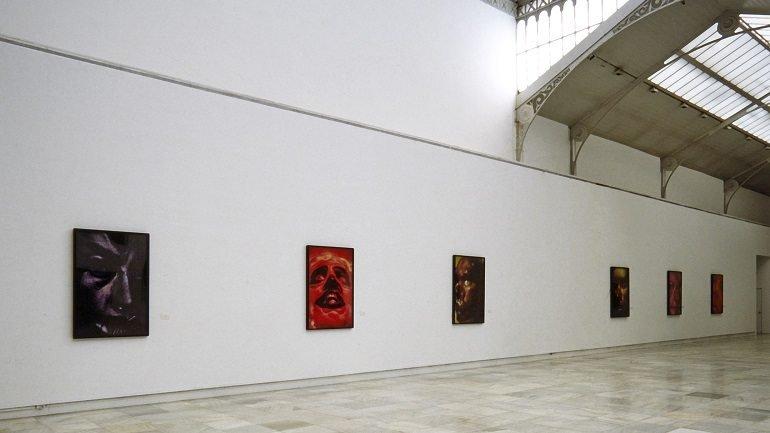 Vista de sala de la exposición. Cindy Sherman. Colofón, 1996