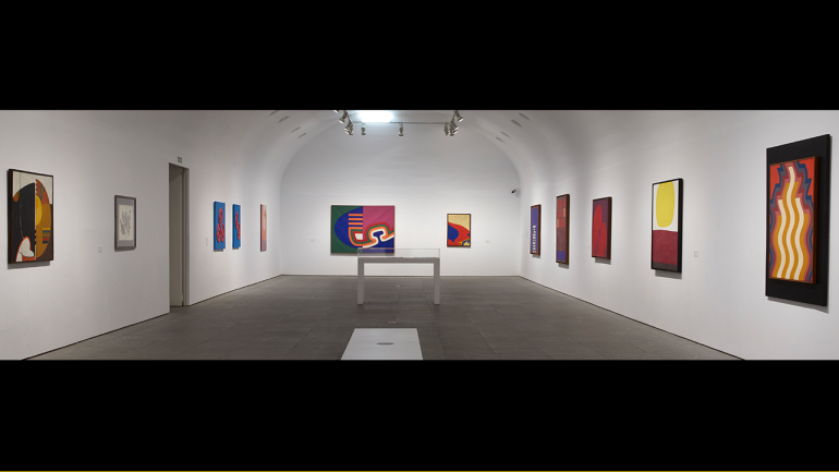 View of the exhibition Moroccan Trilogy 1950-2020
