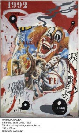 Patricia Gadea. Sin título títuloSerie Circo, 1992. Colección particular