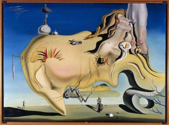 Dalí, El gran masturbador, 1929 © Salvador Dalí, Fundació Gala-Salvador Dalí, VEGAP, Madrid, 2013