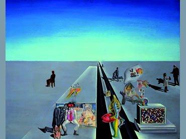 Dalí, Les premiers jours du printemps, 1929 © Salvador Dalí, Fundació Gala-Salvador Dalí, VEGAP, Madrid, 2013