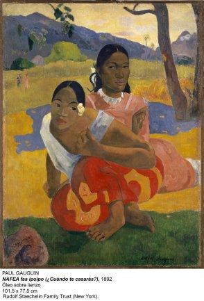 Nafea faa ipoipo. Paul Gauguin