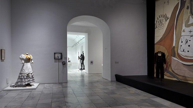 Exposición de la obra en las salas del Museo