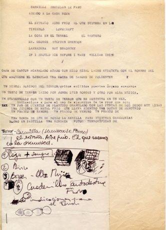 Libro objeto (Proyecto) (1968). Roberto Jacoby // Archivo en uso