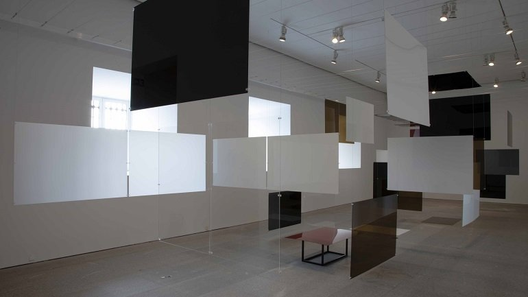 View of the installation An Exhibit in the museum's galleries
