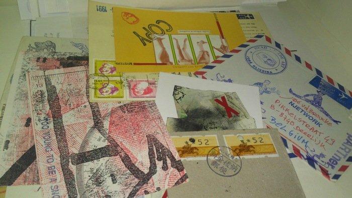 Mail art. Sztuka Fabryka Archivo. Biblioteca y Centro de Documentación, Museo Reina Sofía