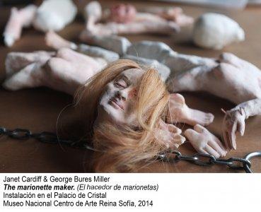 Janet Cardiff & George Bures Miller The marionette maker. Instalación en el Palacio de Cristal, 2014