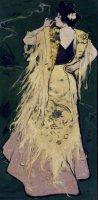 Julio Romero de Torres. Manola, 1900-1910 (ca.) Óleo y temple sobre lienzo, 01,5 x 50 cm / Con marco: 122,5 x 70 cm