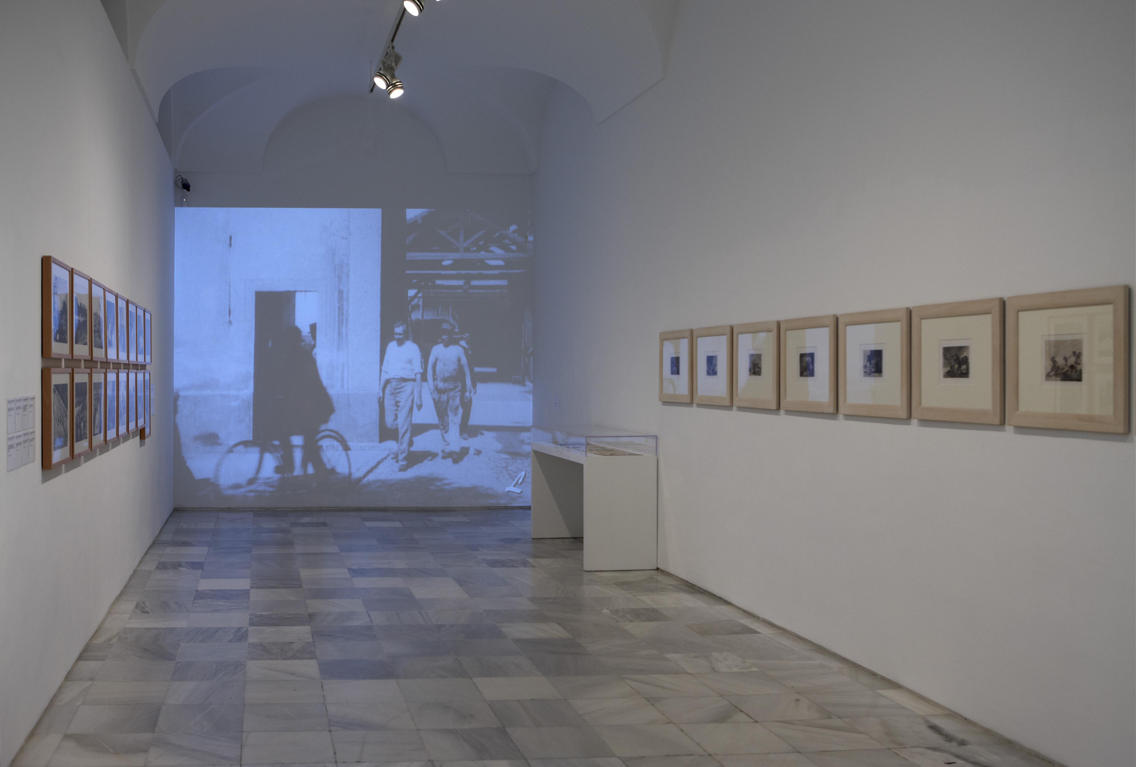 Vista de la Sala 201 de la Colección